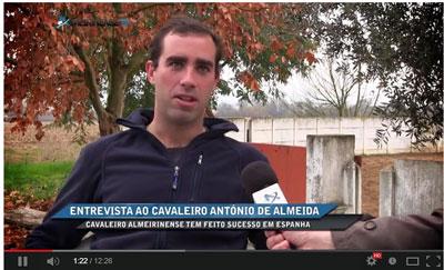 António D'Almeida tira alternativa em junho