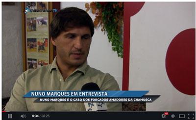 Nuno Marques em entrevista