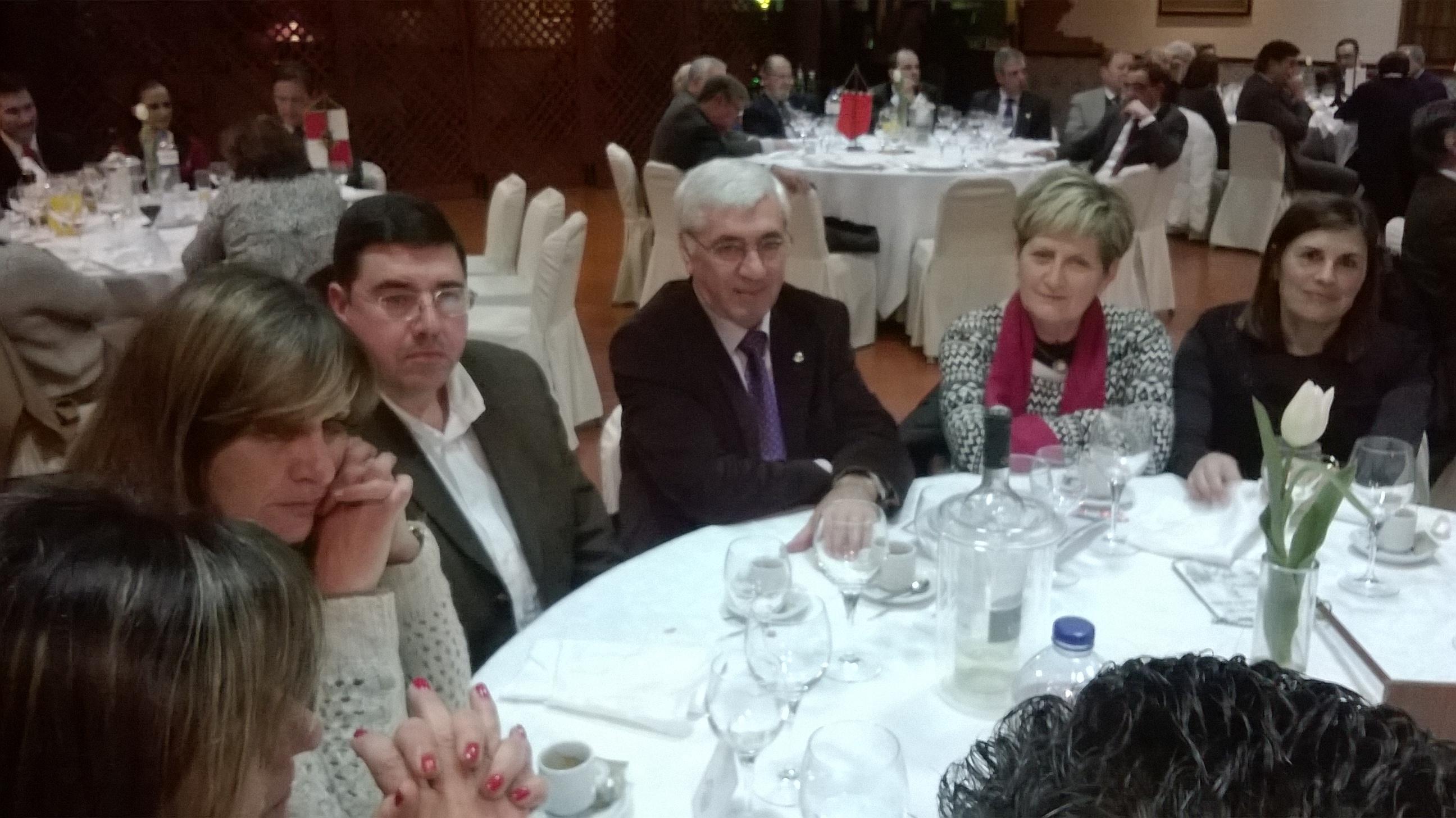 Joaquim Sampaio homenageado pelo Rotary Club
