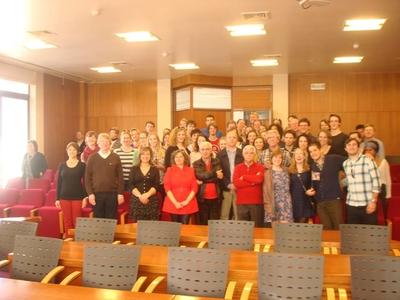 Coro da Universidade de Maastrich recebido