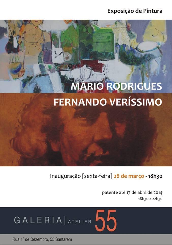Mário Rodrigues e Fernando Veríssimo expõem em Santarém