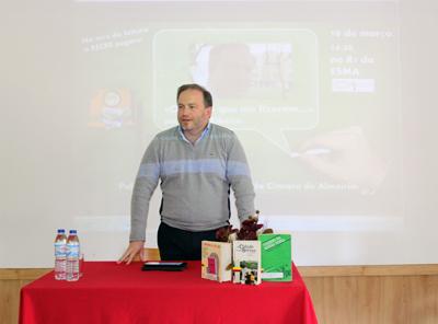 Pedro Ribeiro revela preferência literária a alunos da Marquesa da Alorna