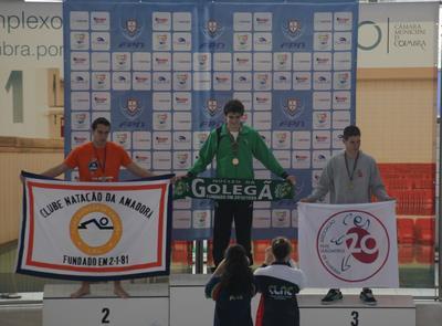 Miguel Cruz … segundo melhor de Portugal