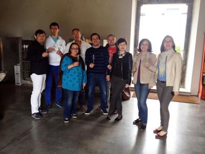 Jornalistas estrangeiros visitam Almeirim