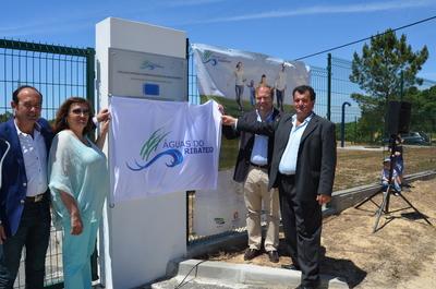 Francisco Oliveira inaugurou novo sistema de abastecimento de Água Azerveira e Raposa