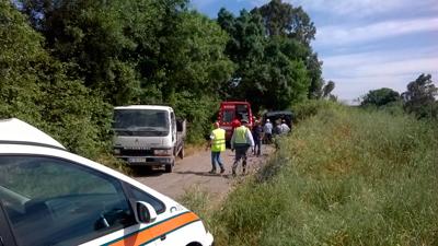 Acidente na Estrada do Campo provoca três feridos
