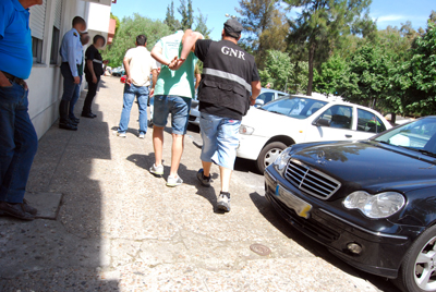 Última Hora: Argelinos detidos em Almeirim