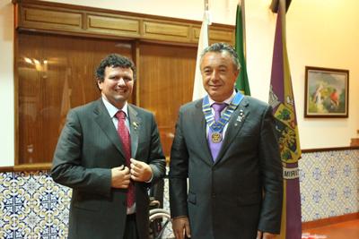 António Oliveira novo Presidente do Rotary Club de Almeirim