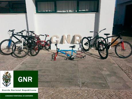 Ladrões das bicicletas soltos