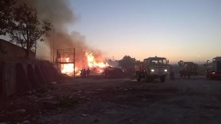 GNR apanha suspeito de atear fogo em Almeirim
