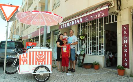Velharias da Marília e a Bike dos gelados são os novos negócios de Almeirim