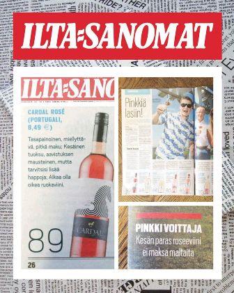 Vinho de Almeirim em destaque na Finlândia