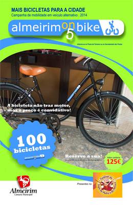 Ainda pode comprar bicicletas a preço reduzido
