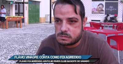 Violência na noite de Almeirim. Jovem agredido fala à Almeirinense TV