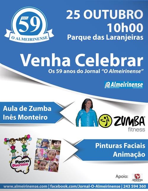 O Almeirinense festeja aniversário com festa dia 25