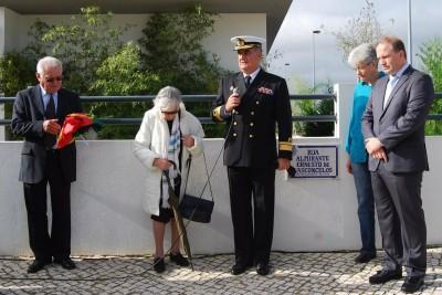 Almirante Ernesto de Vasconcelos homenageado