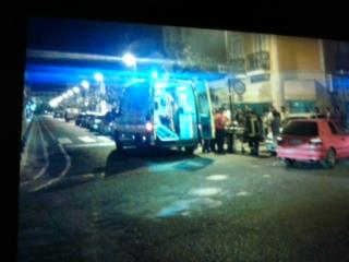 Dois feridos em acidente no centro de Almeirim