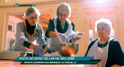 Lar S. José com bolo e música no Dia Mundial do Idoso