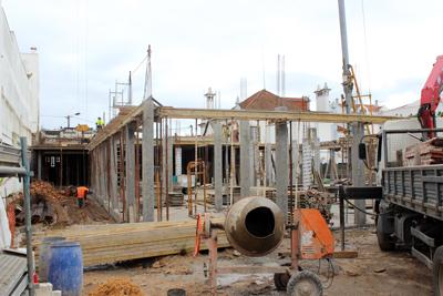 Projecto da CRIAL para residência aumenta. Obras já estão em fase avançada