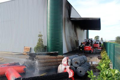 Última Hora: Incêndio na Zona Industrial de Almeirim (VIDEO)