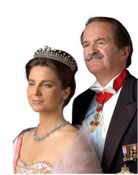 Família Real em Almeirim