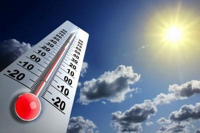 Temperaturas sobem 22 graus em seis dias