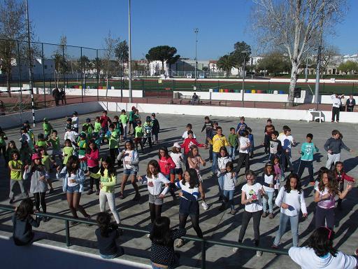 Crianças participam no Encontro Desportivo Inter ATL's