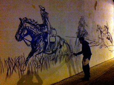 Arte Urbana chegou a Almeirim (VIDEO)