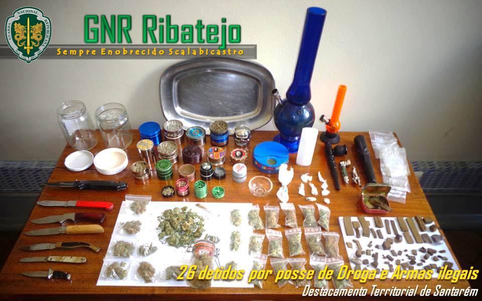 GNR faz 26 detenções em Almeirim – atualizada (VIDEO)
