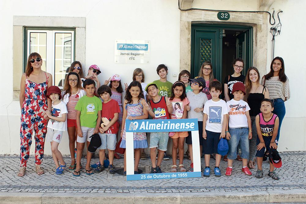 Clube dos Infantes visita O Almeirinense