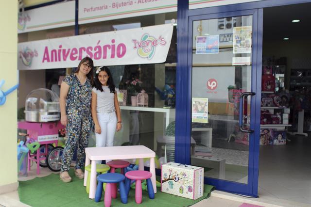 Primeiro aniversário da Ivone's Shop em Almerim
