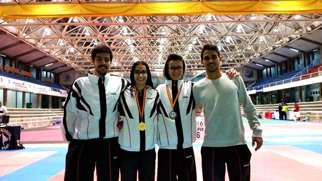 Taekwondo 20 Km conquista ouro e bronze em Espanha