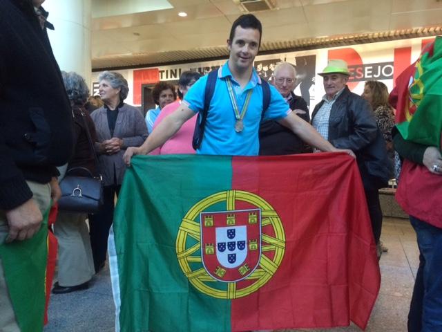 Bruno Leitão participa nos Jogos Olímpicos com Síndrome de Down