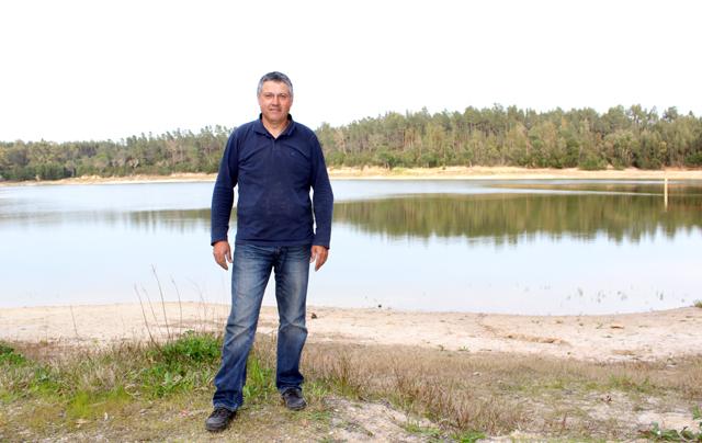 José Nunes salvou dois homens de afogamento na barragem dos Gagos (c/vídeo)