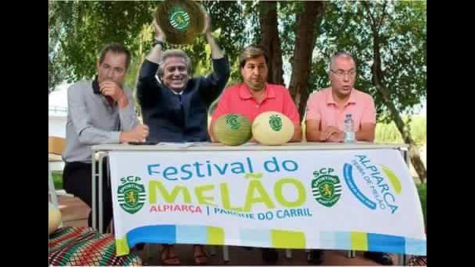 Melão Viral: Mário Pereira transforma-se em Bruno de Carvalho