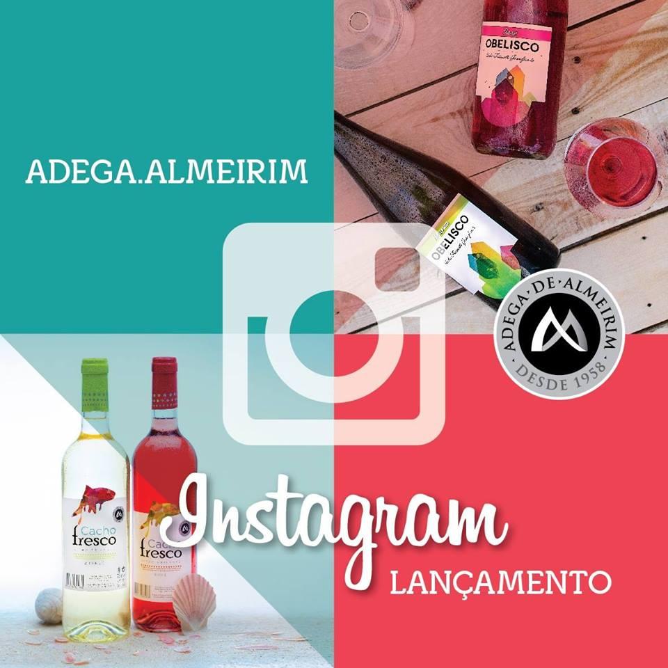 Adega Cooperativa de Almeirim adere ao Instagram