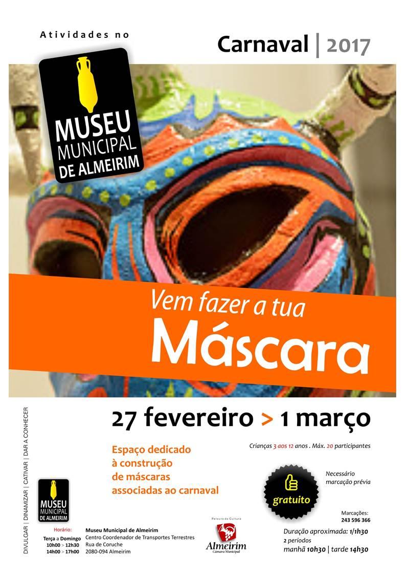 Construção de Máscaras Carnavalescas no Museu Municipal