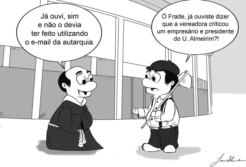 Cartoon 1 de fevereiro