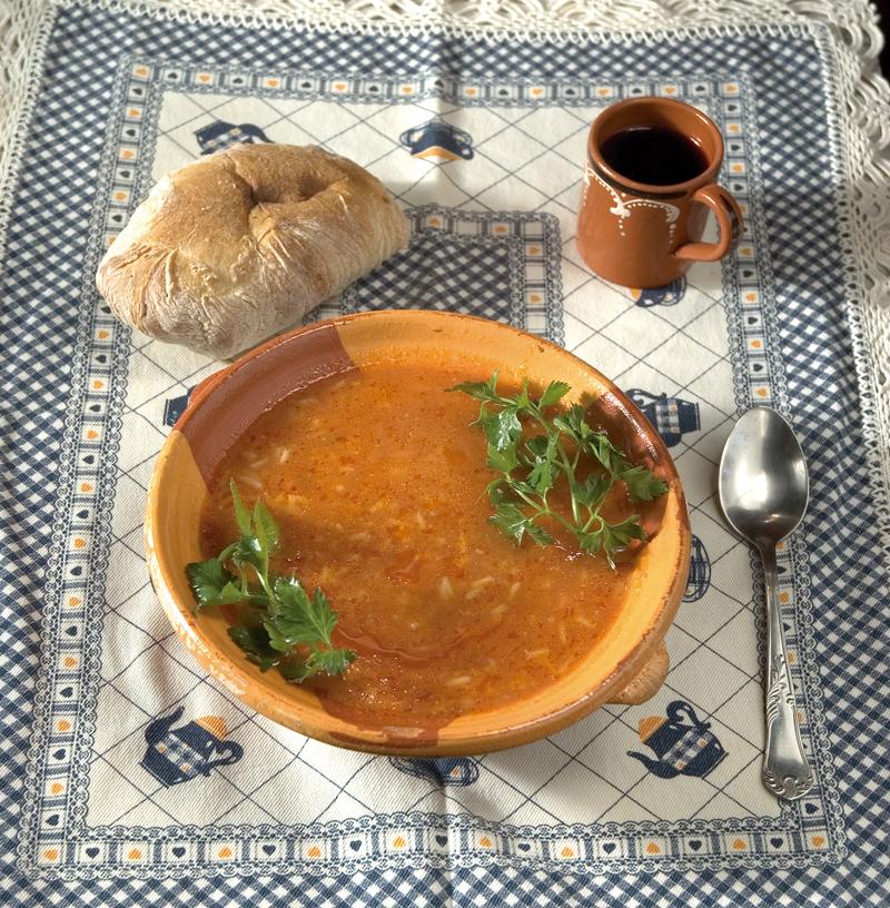 Sopa de Puré de Tomate