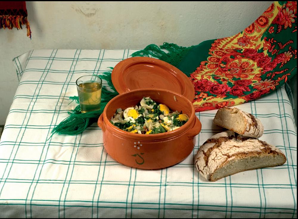 Salada de Bacalhau com Feijão-Frade