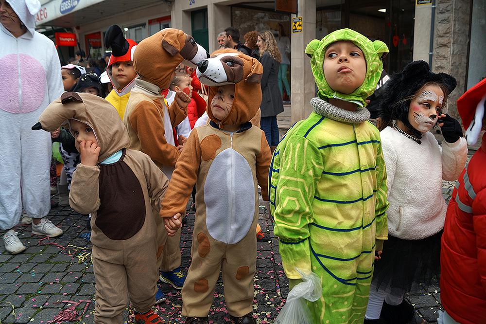 Crianças no Carnaval Escolar do concelho de Almeirim